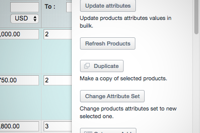 Duplicate Products