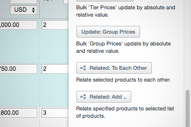 Link Related/Cross-Sell Products to Each Other mass action