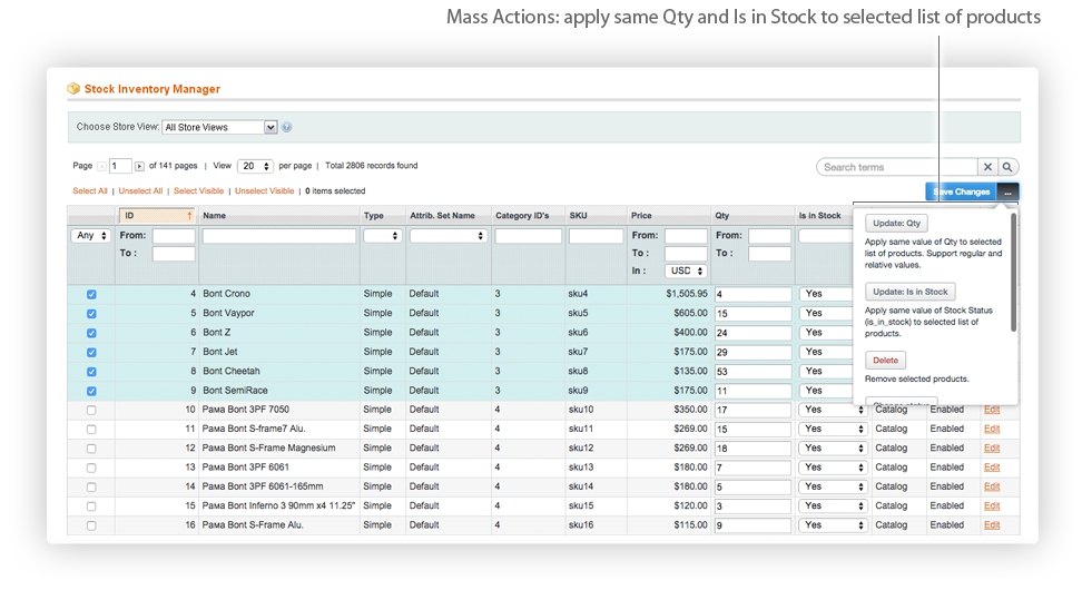 Magento Inventory Management Extension Iksanika Magento Extensions